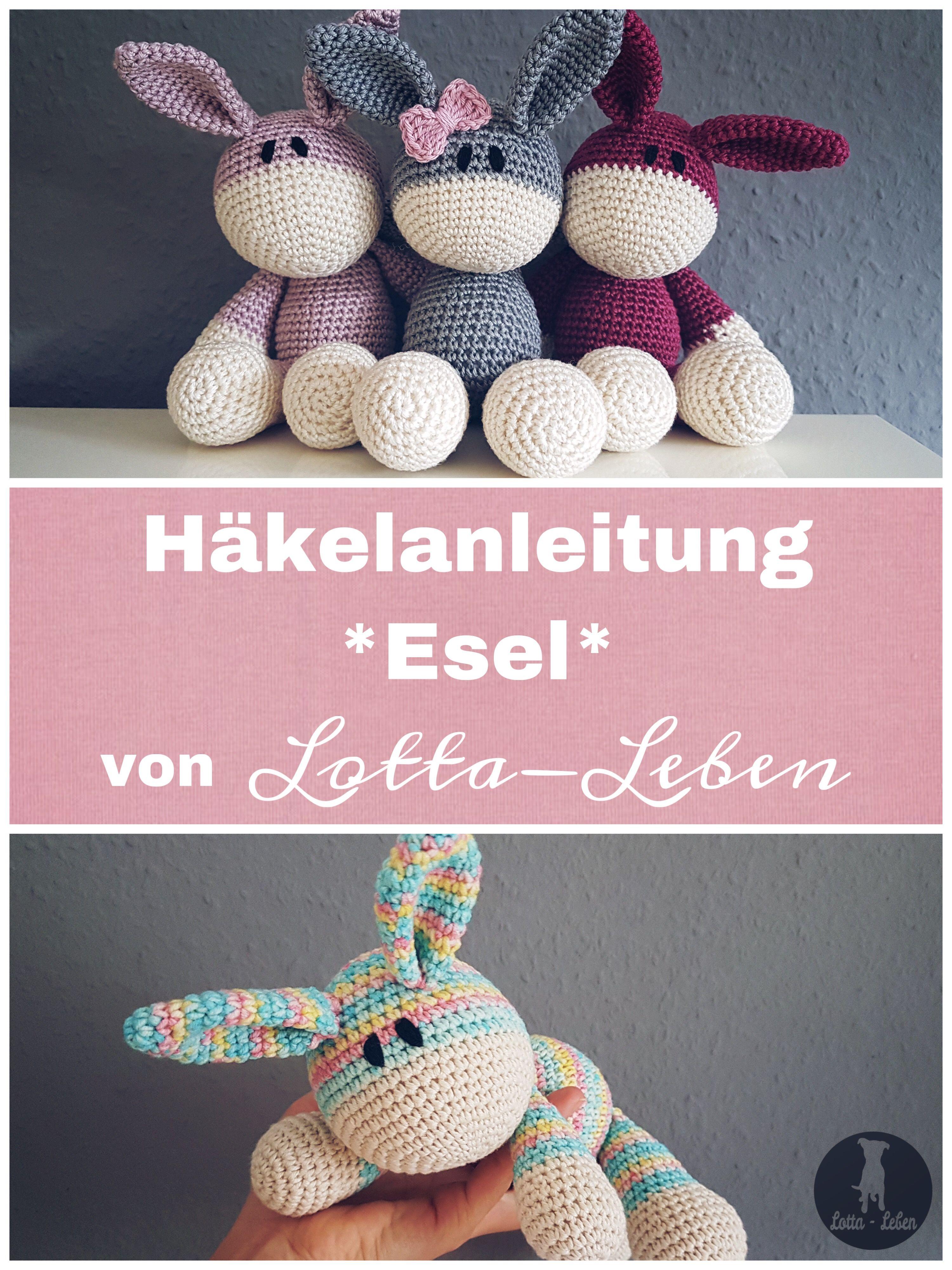 Photo of Häkelanleitung *Esel*