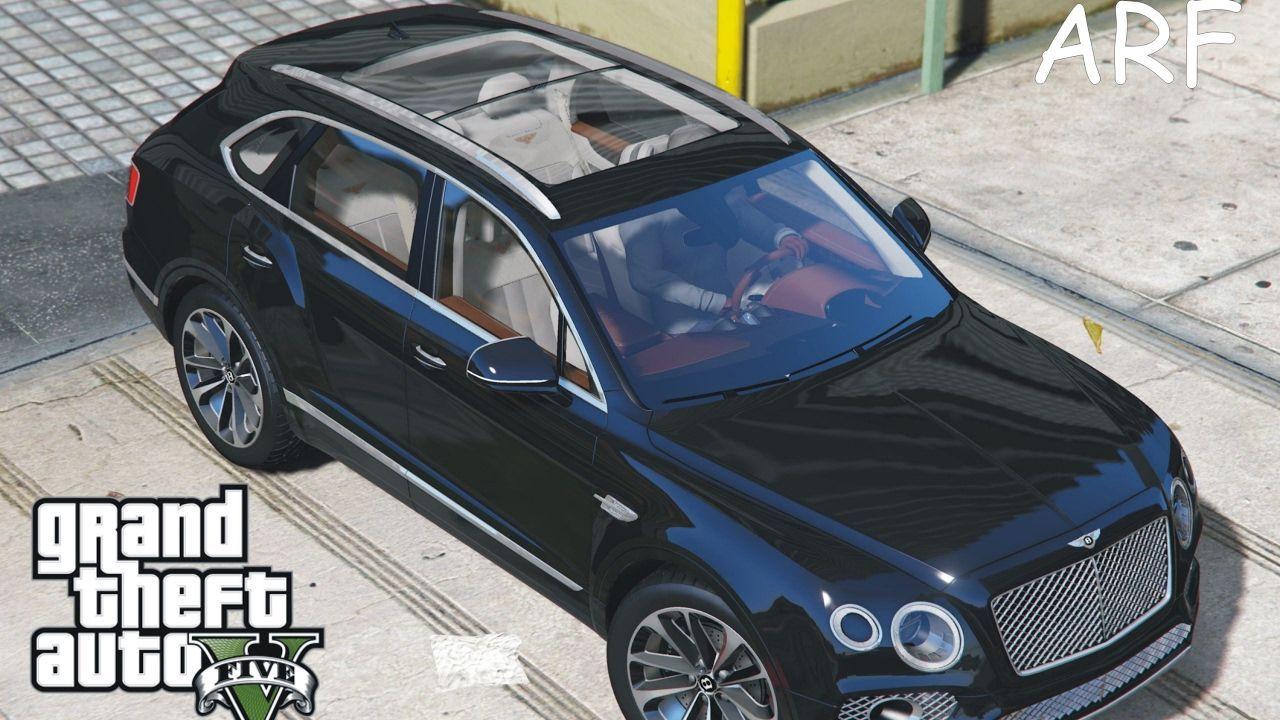 Gta V My New Bentley Bentayga Gta 5 Mod New Luxury Cars New Bentley New Trucks