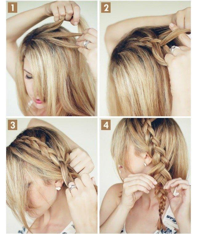 Einfache Frisuren Zum Selber Machen Flechten