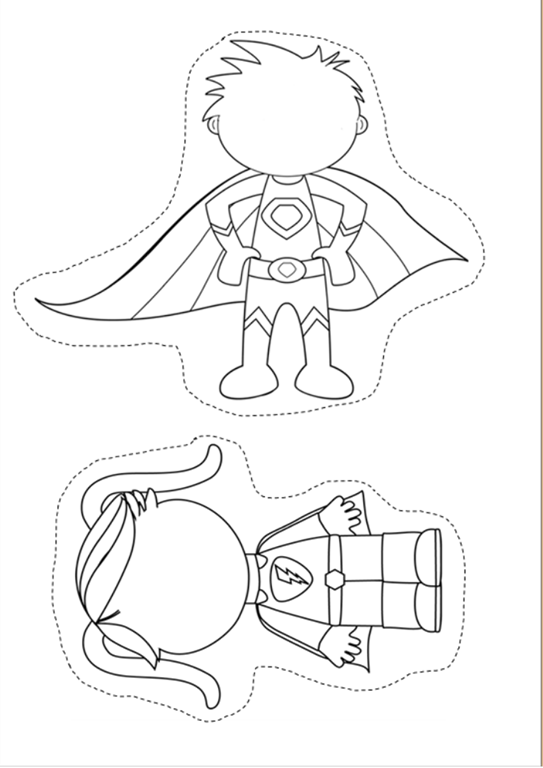 Great to make Secret Stories Superhero Vowel