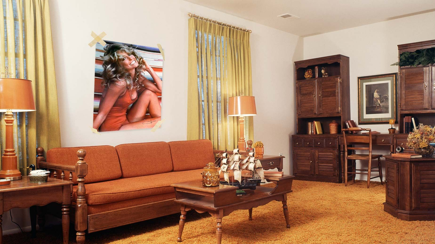 worst home decor ideas of the 1970s - Home Decor Calgary