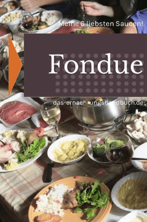 Meine 6 liebsten Fondue-Saucen!