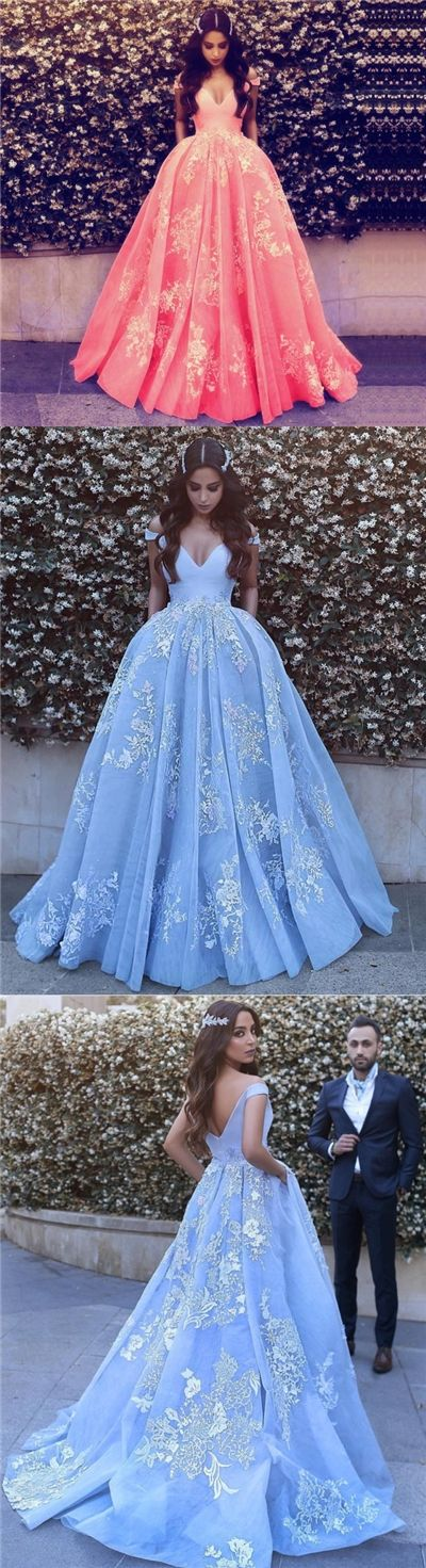 Luxury Prom Dresses Ball Gown Off-the-shoulder Sexy Prom Dress ...