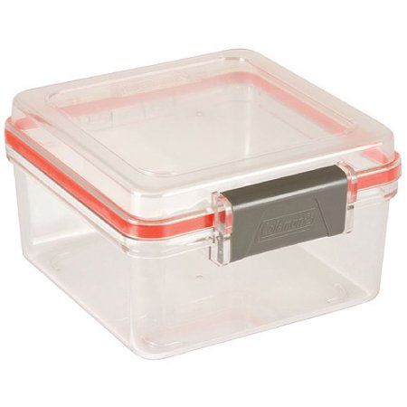 Coleman Large Watertight Container Orange Storage containers