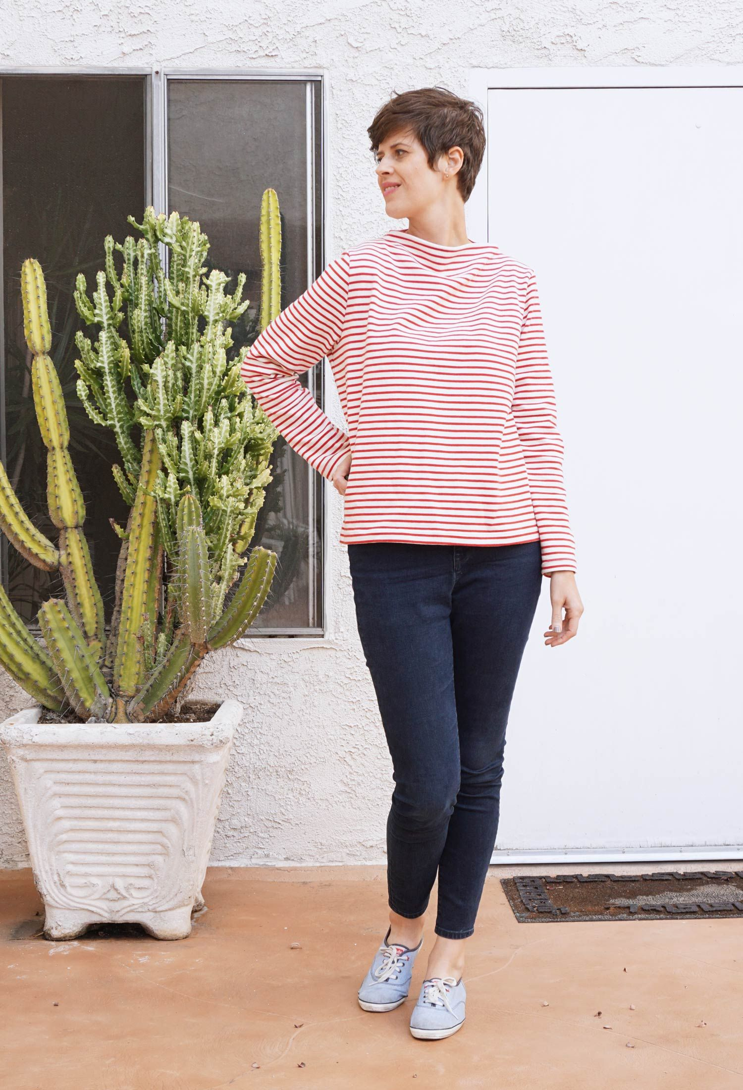 DIY Funnel Neck Sweater – Toaster Sweater pattern review