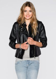 48de31a3fd86 Belagd MC-jacka, RAINBOW | Mode | Leather Jacket, Jackets och Fashion