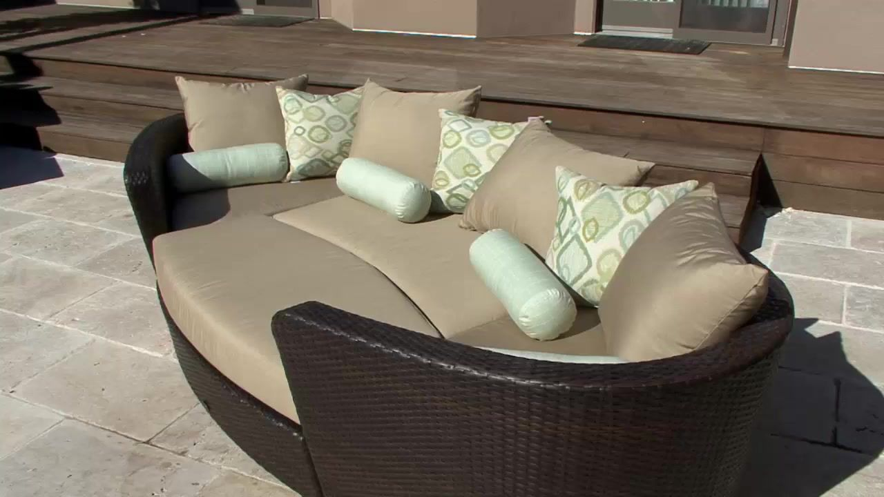 Venice 4-piece Patio Modular Deep Seating Lounge Set by Sirio ...