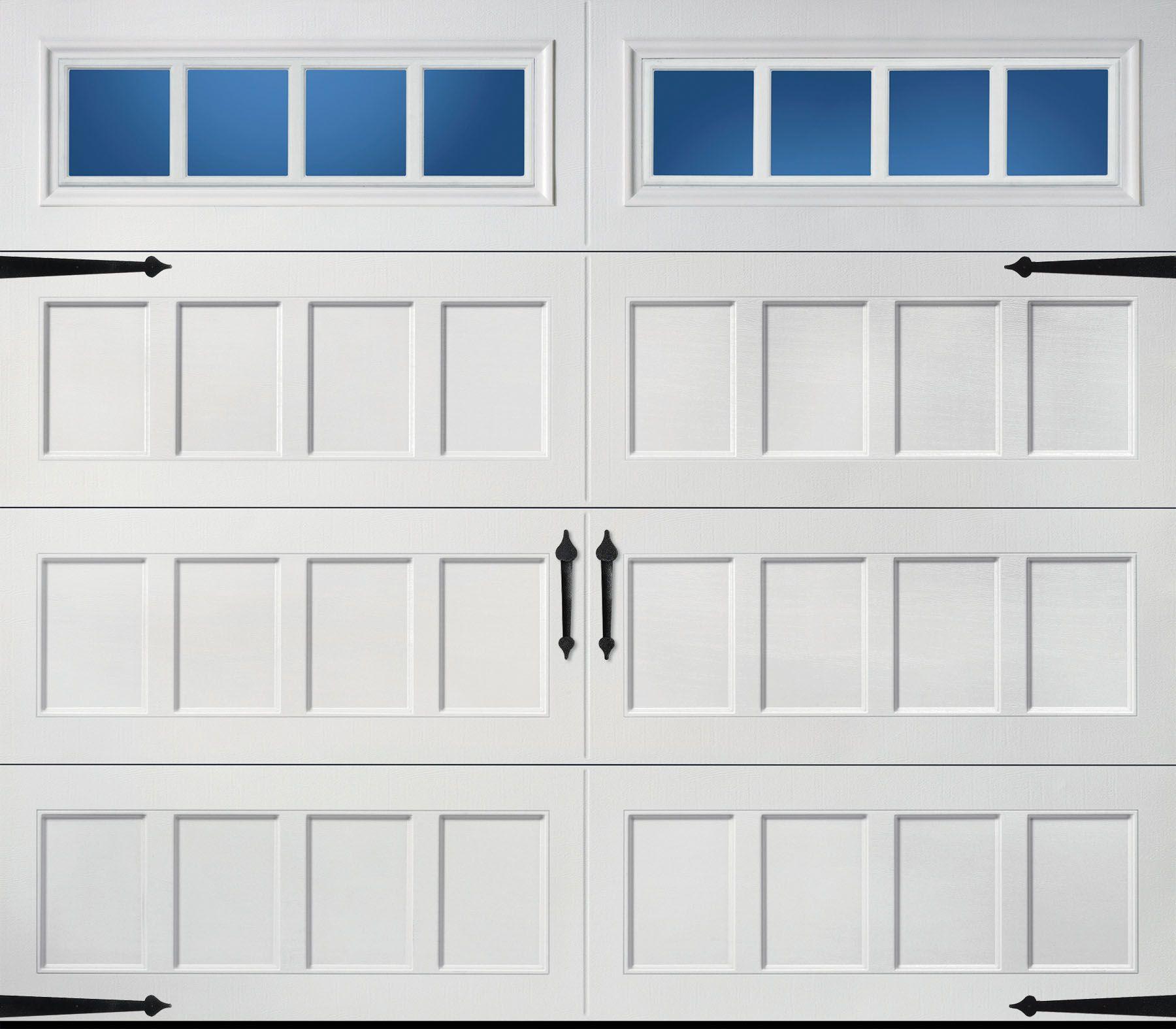Recessed long panel thames windows showroom pinterest pella carriage house series x insulated sandtone single garage door eventelaan Gallery