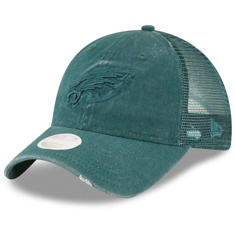 Philadelphia Eagles New Era Oversized Laser Cut Tonal 39THIRTY Flex Hat –  Green 6f04d83c1c5d