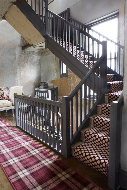 Alternative Flooring Carpet Stairs Alternative Flooring | Quirky Carpets For Stairs | Designed | Statement | Popular | Flower Patterned | Flowery