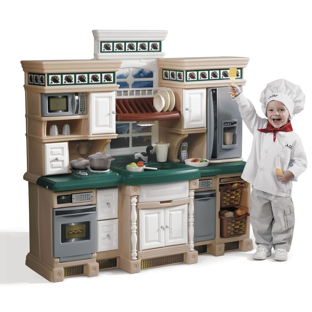 Lifestyle Deluxe Kitchen Kids Play Kitchen Play Kitchen Sets Pretend Kitchen Kitchen Playsets