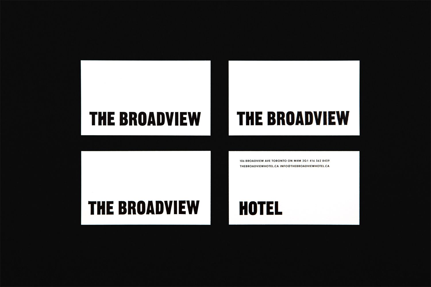 New Brand Identity for The Broadview Hotel by Blok — BP&O | Business ...