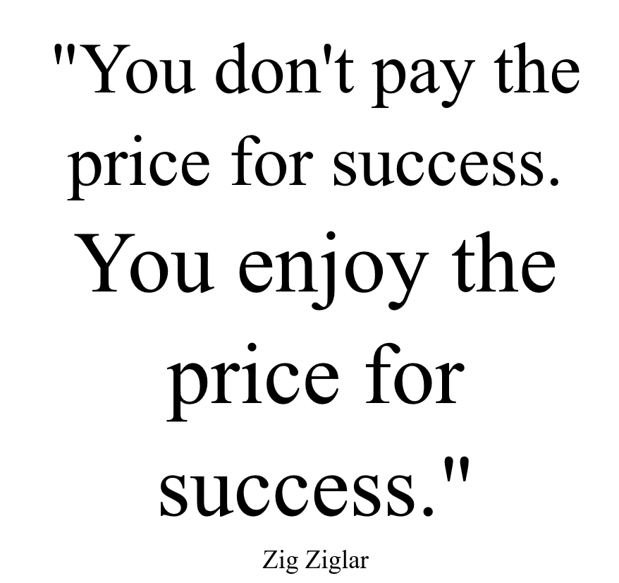 Are you ready to enjoy success?