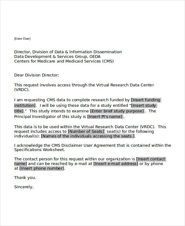 5 Request Letter Templates Professional Letter Format Letter