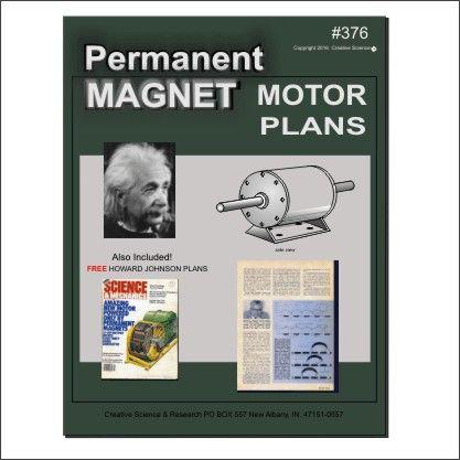 Perm Magnet Motor Plans | Technology