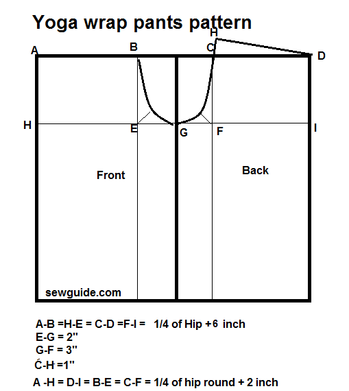 2 ways to make WRAP PANTS - FISHERMAN's PANTS / YOGA Pants - Sew Guide