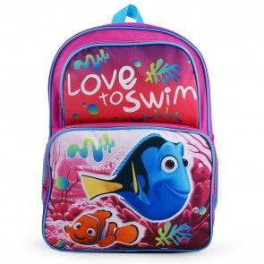 3f951af9bfb Disney Pixar Finding Dory Love to Swim Backpack Back To School Backpacks