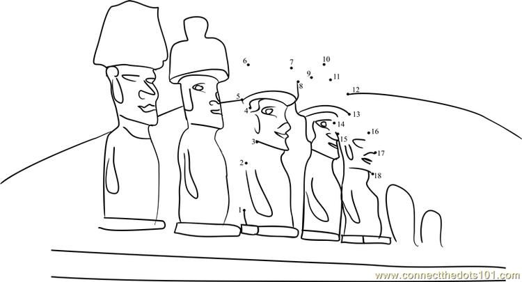 Moai Coloring Pages Home Living Areas Easter Island Moai Heads Wall Art Easter Island Moai Easter Island Art 28