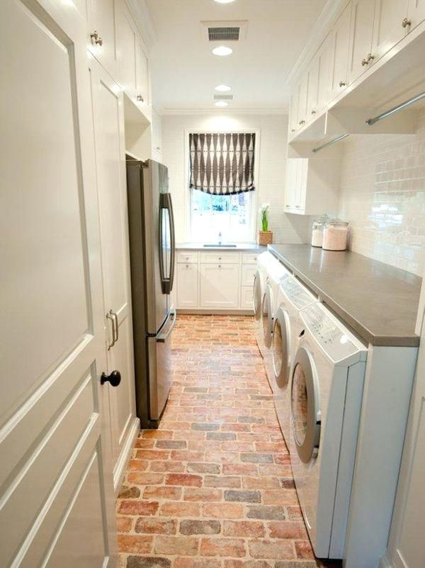 Laundry Room Ideas Basement | Laundry room flooring ...