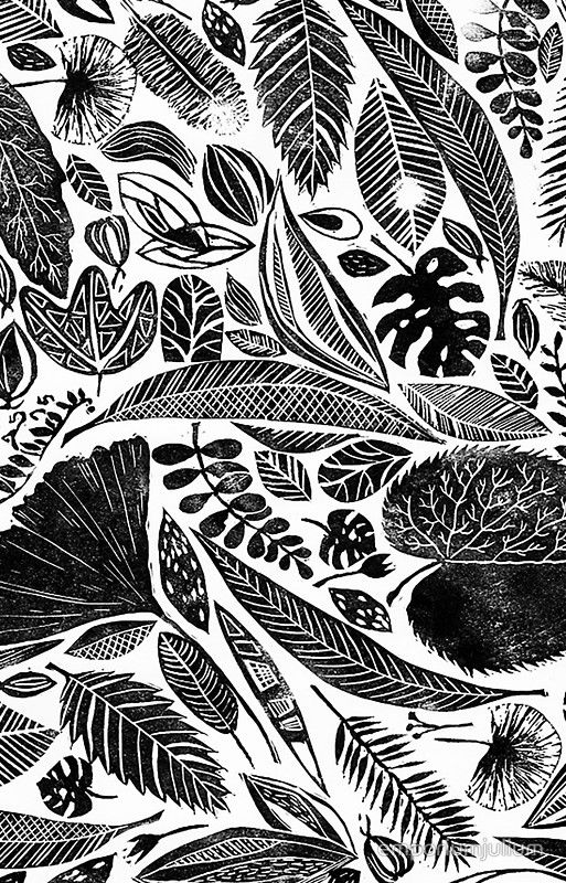 1000+ images about Lino Nature Print on Pinterest | Spider ...