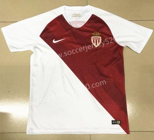 6f1320fb4cf 2018-19 Monaco Home Red Thailand Soccer Jersey AAA | Ligue 1 ...