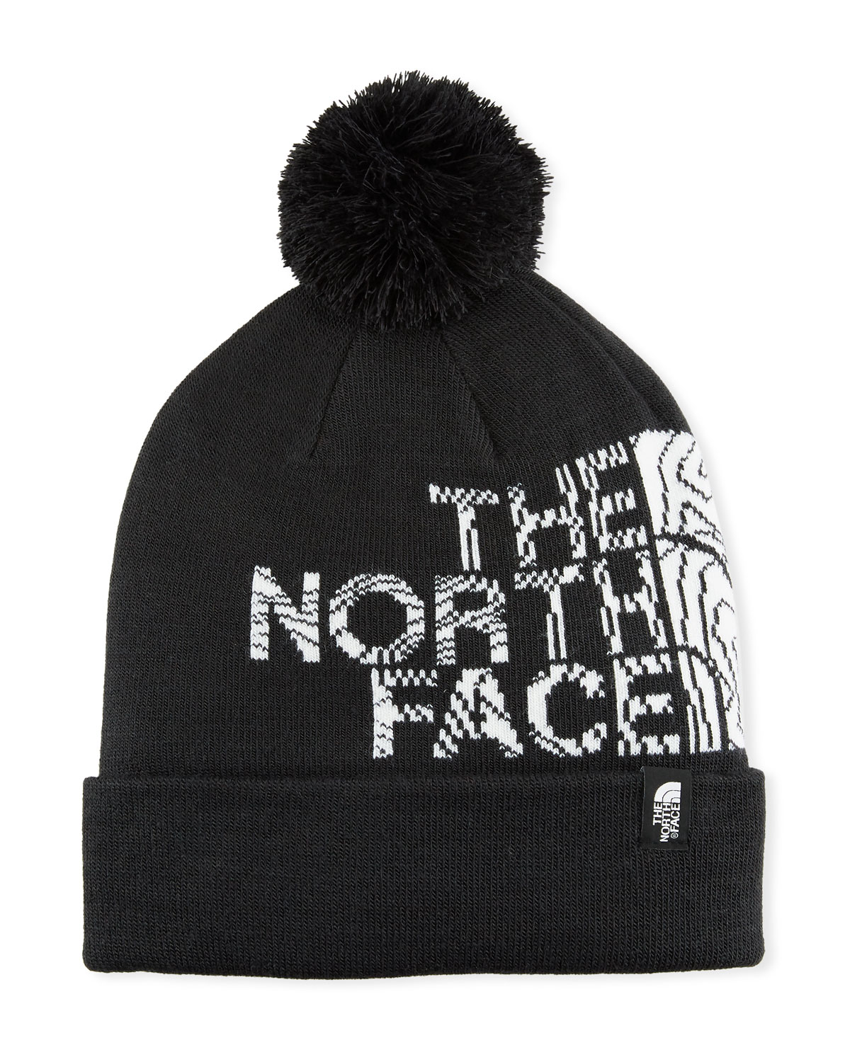 The North Face Men s Logo Ski Toque Beanie Hat with Pompom ... 519879915511