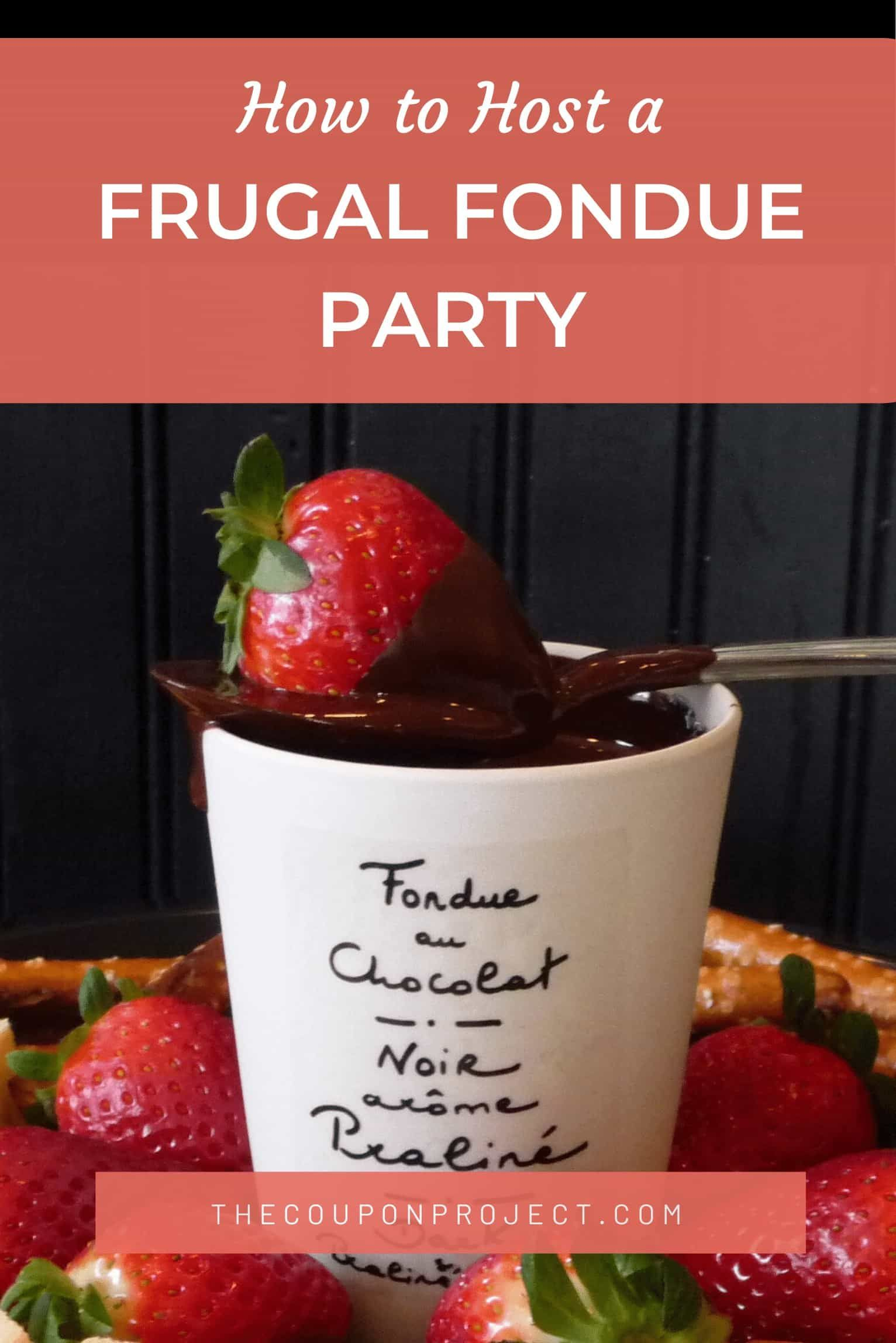 Host A Frugal Fondue Party Easy Cheese Chocolate Fondue Recipes The Coupon Project Fondue Party Chocolate Fondue Recipe Fondue Recipes