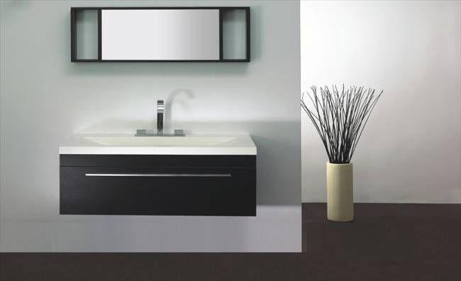 Wall mounted vanity igneous wall mount vanity