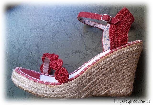 Sandals makeover: rediseña tus zapatos.