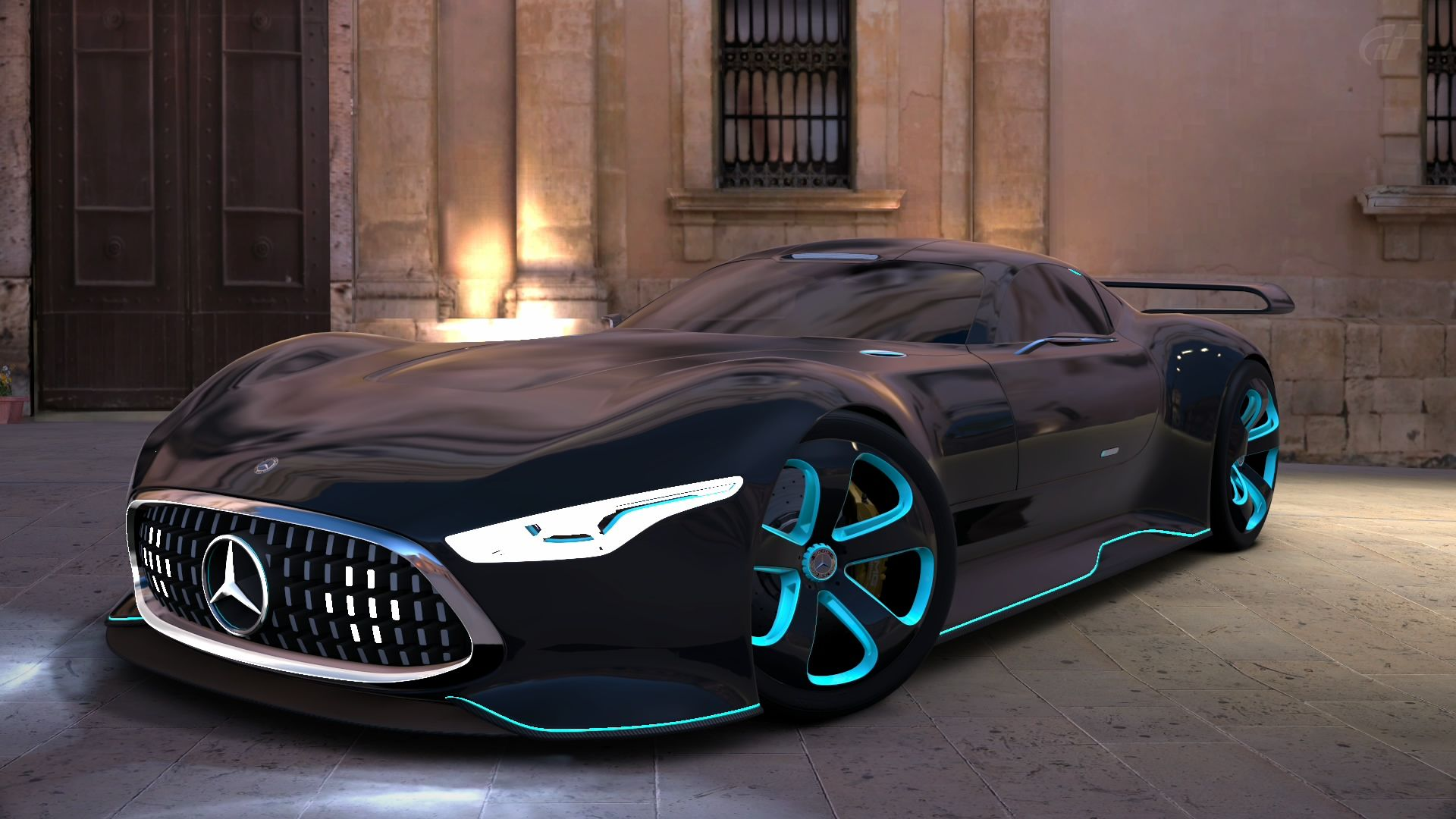 Gran turismo 6 mercedes benz amg vision gt by for Mercedes benz cars