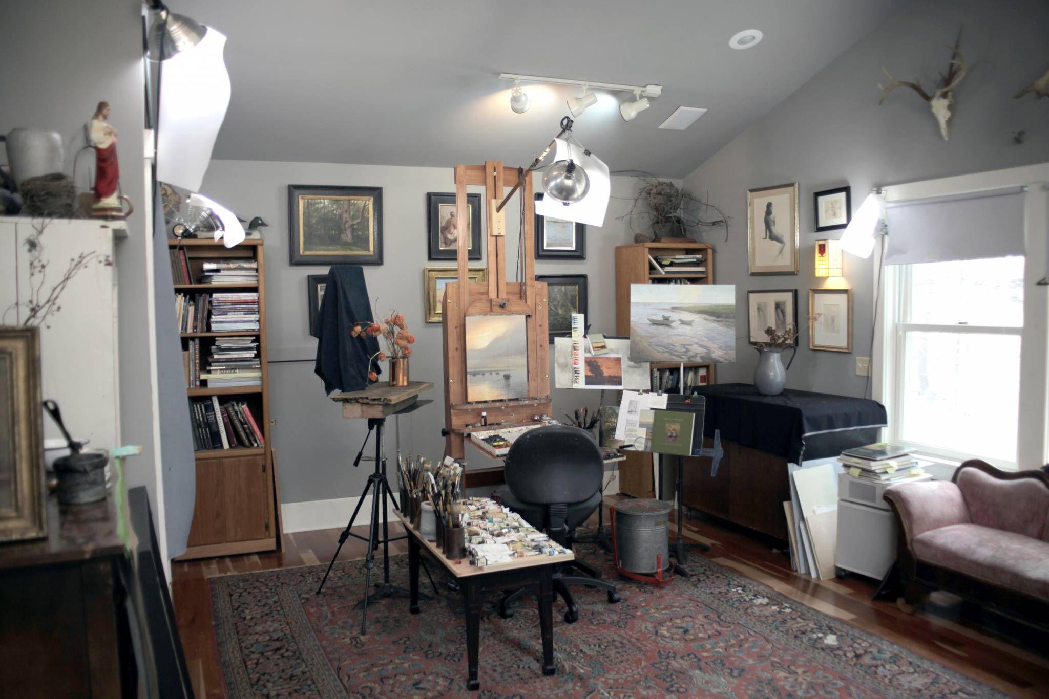 Two Light Studio Setup