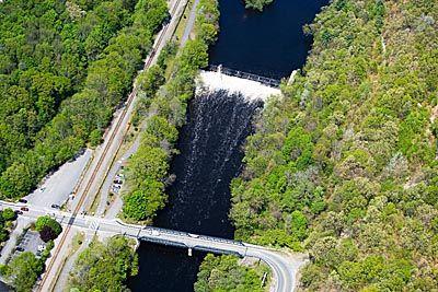 Rhode Island Dam Blackstone River Albion Ri Rhode Island