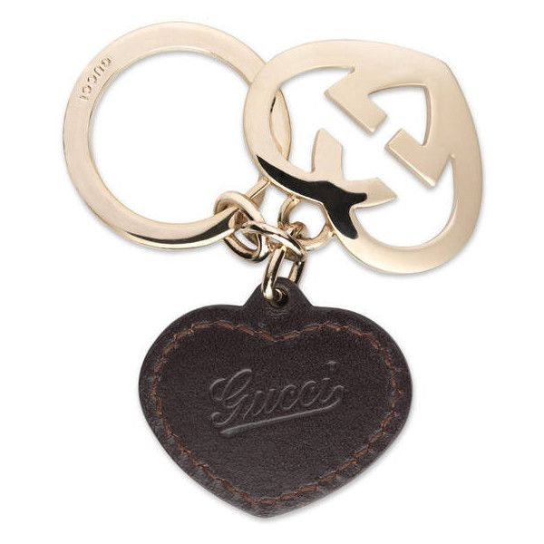 700578459d39 Gucci Heart Key Ring ( 165) ❤ liked on Polyvore featuring accessories