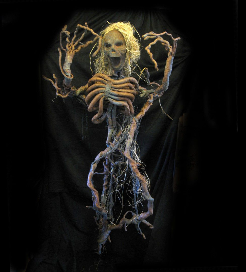 Standing Tree Man Evil Spirit Halloween Party Haunted House Prop ...