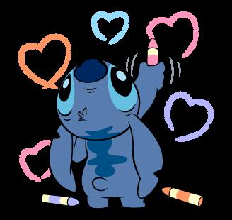 Stitch Stickers 40 #liloandstitch