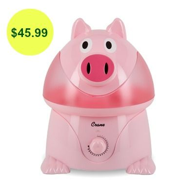 Penelope the Pig | Cool mist humidifier, Crane, Humidifier
