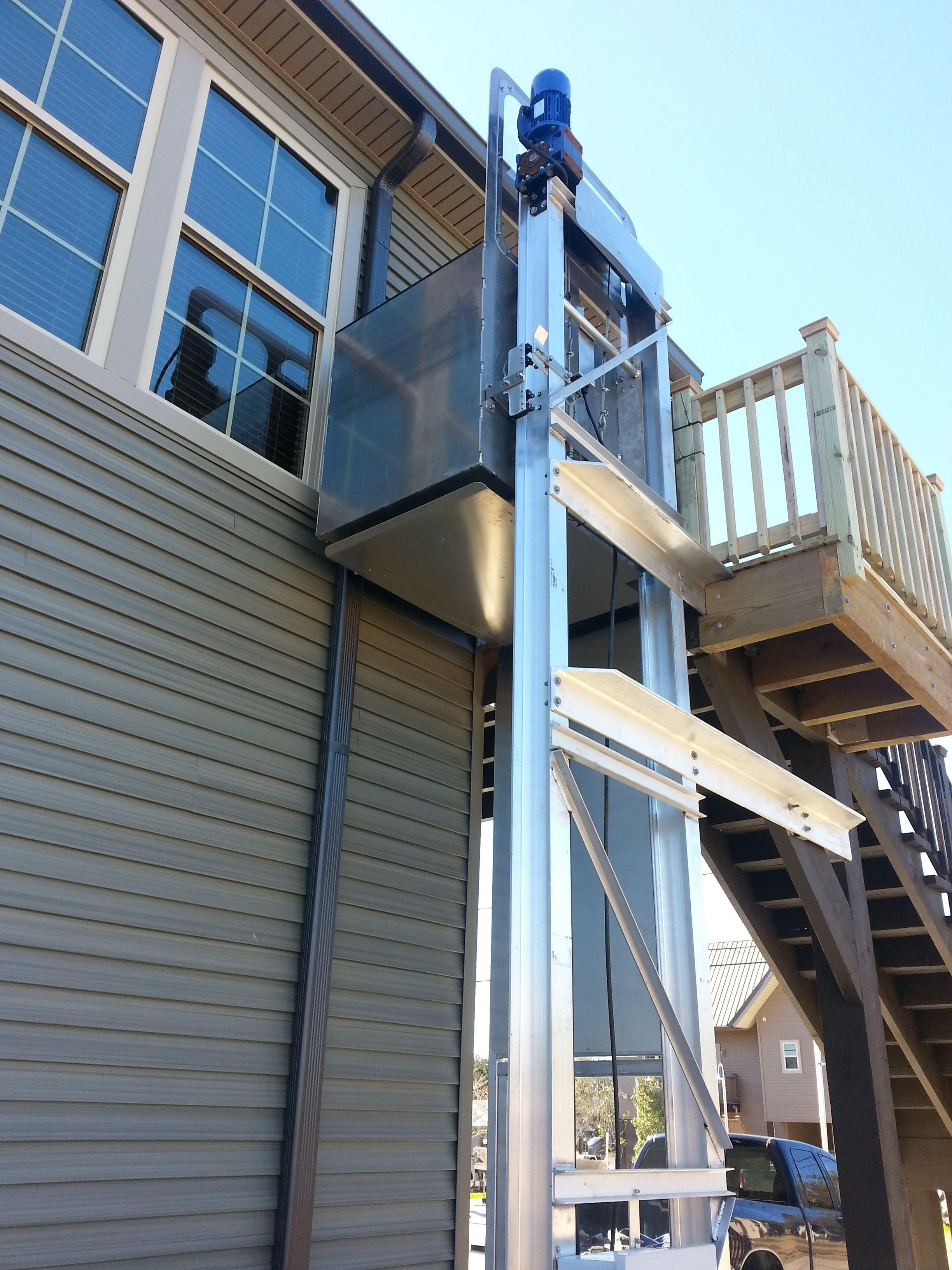 for 2 story wheelchair lift