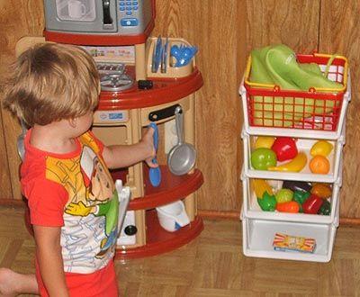 Food Storage Made Easy Ldsemergencyresources Com Play Food Storage Kids Play Food Play Kitchen