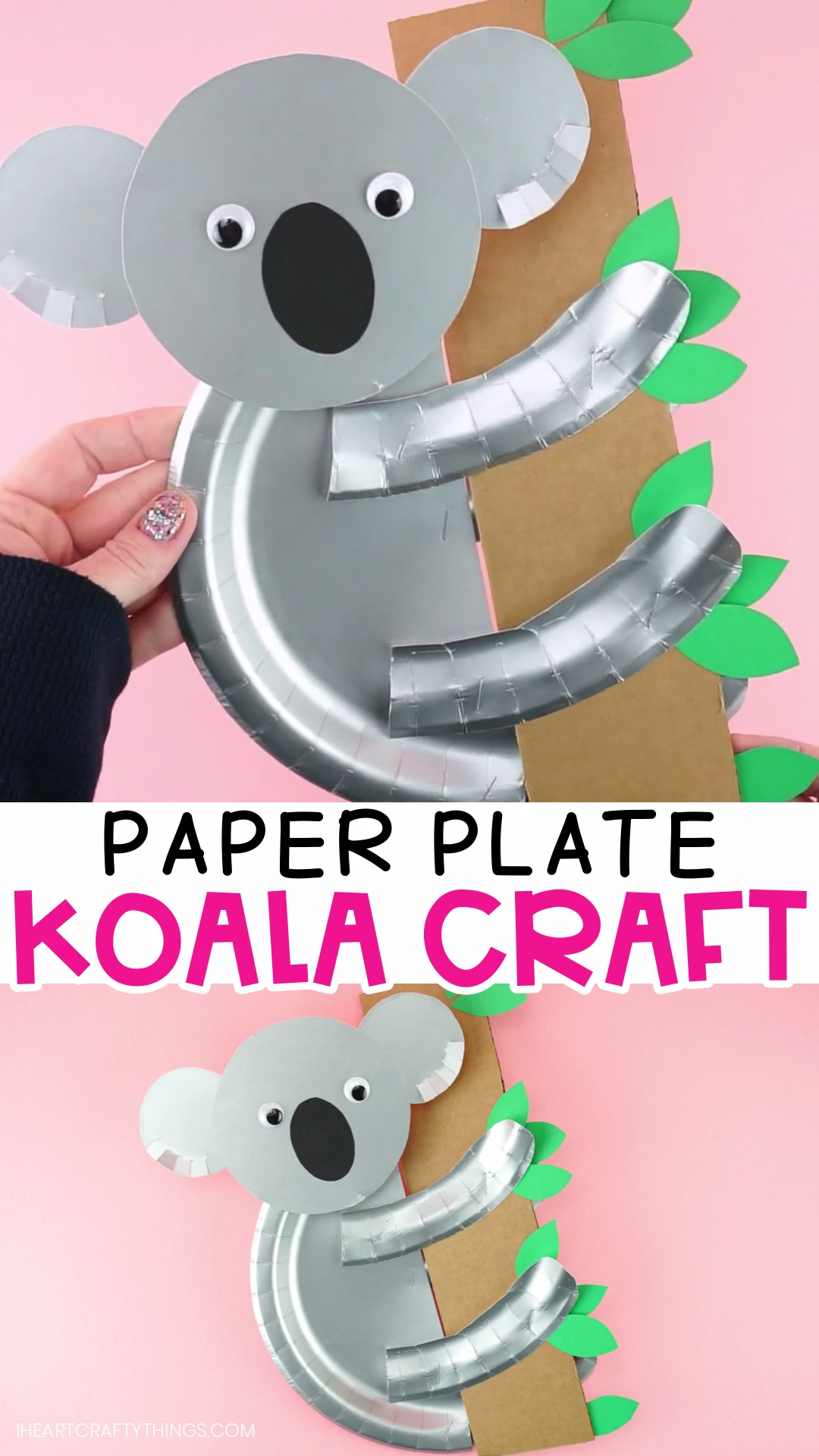 Photo of Paper Plate Koala Craft for Kids