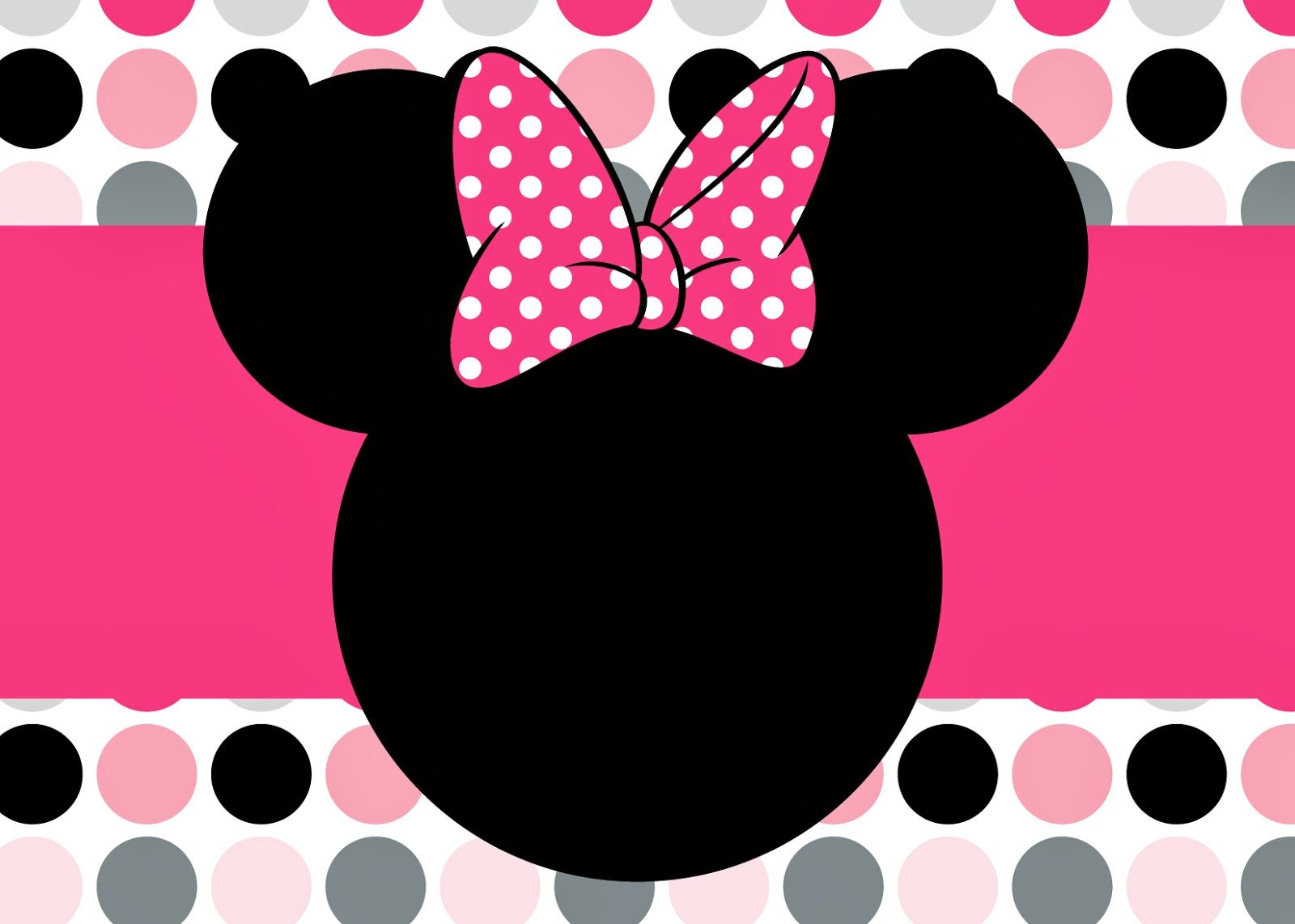 Convite Da Minnie Para Imprimir 1600x1142 BirthdayMinnie Mouse