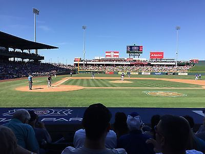 Tickets 3 26 2 San Go Padres Chicago Cubs Spring Training