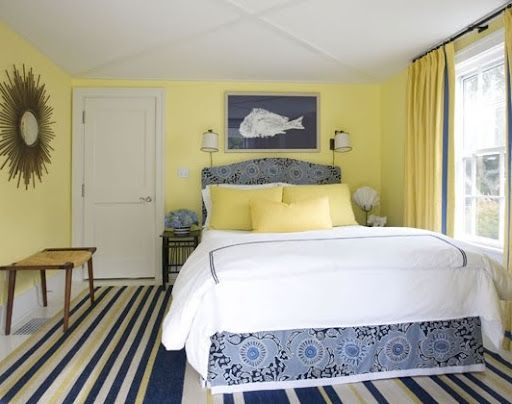 great guest room blue and yellow bedroom decor also best lt rooms images on pinterest rh