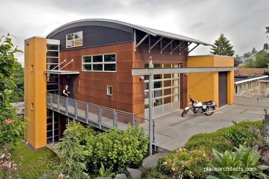 Prefab house in canada una casa prefabricada contempor nea canadiense m s informaci n - In house casas prefabricadas ...