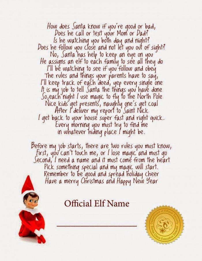 Lime  Mortar Elf On The Shelf Ideas  Planner  For Hannah