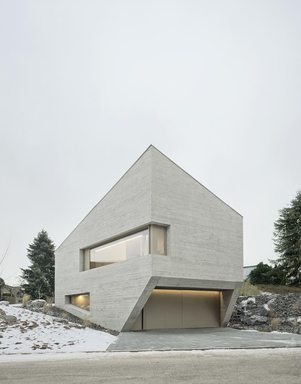 E20 wohnhaus minimalistische häuser von steimle architekten