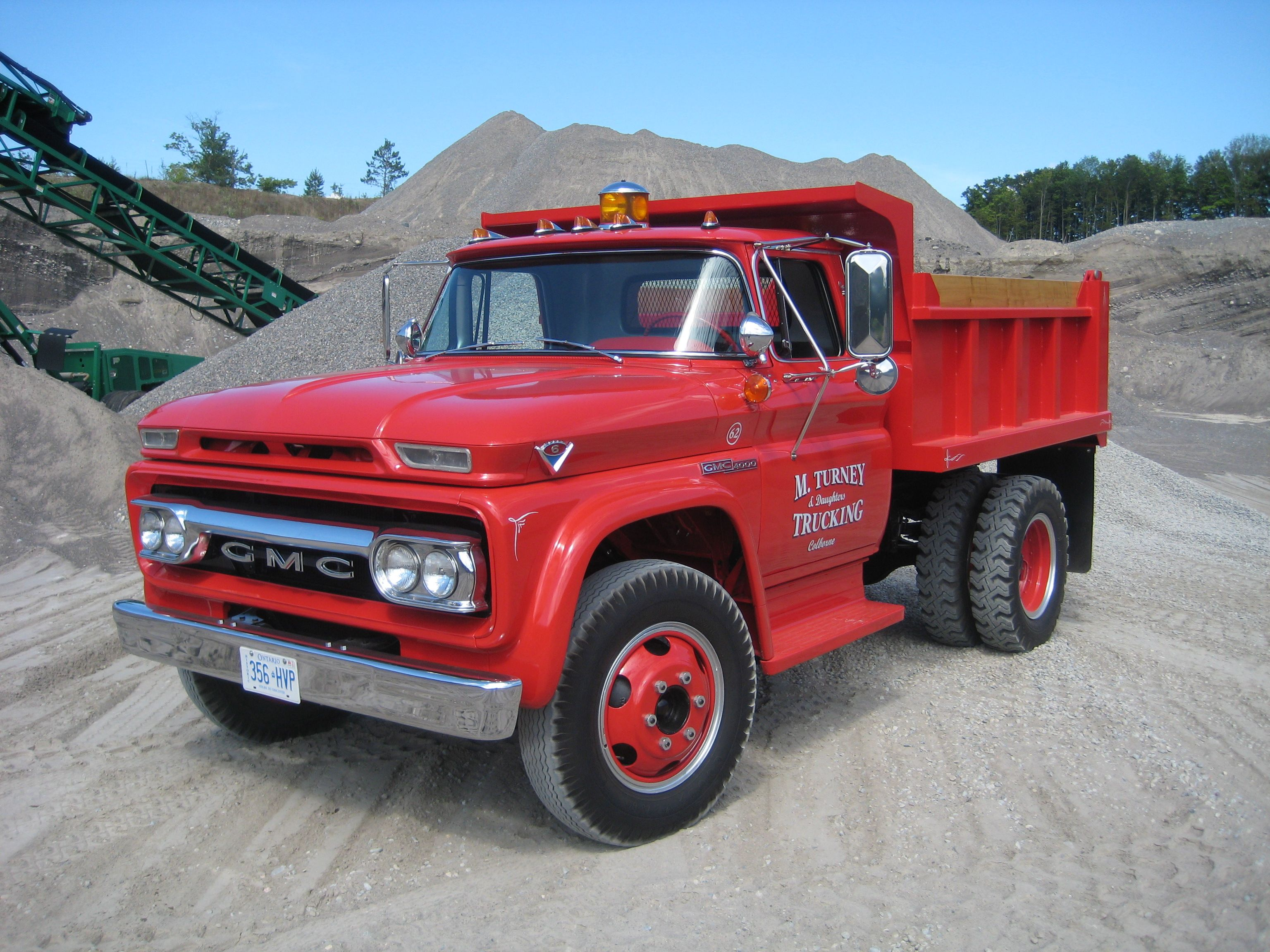 1962 Gmc Dump Truck Gmc Vehicles Trucks Gmc Trucks