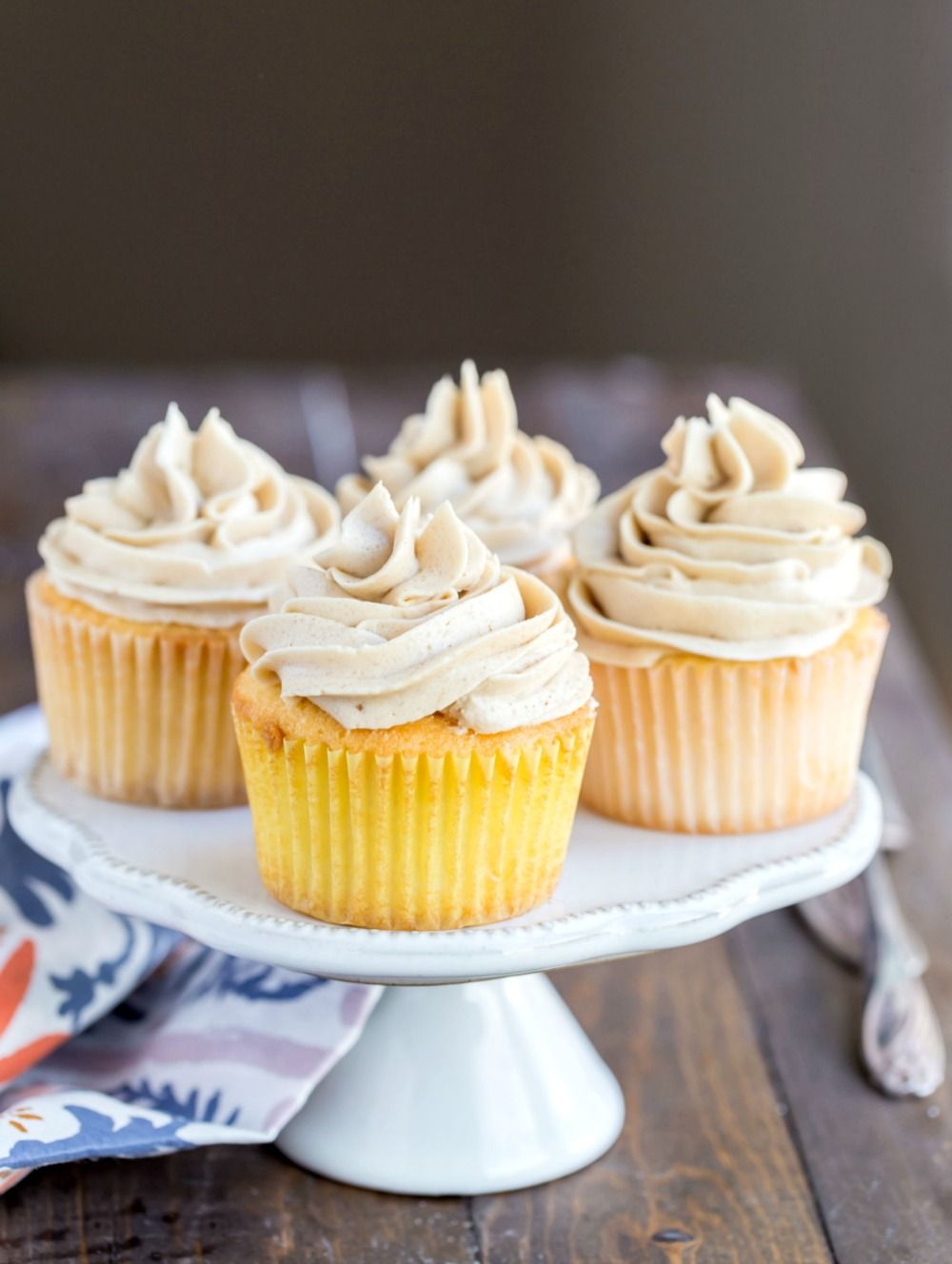 Whipped Brown Sugar Buttercream Recipe Frosting