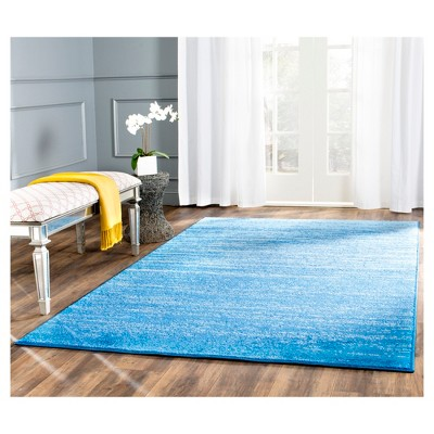 Norris Area Rug - Light Blue/Dark Blue (6'x9') - Safavieh