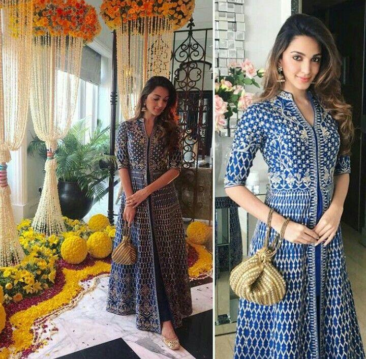 Kiara Advani in an Anita Dongre silk kurta | Indian women fashion, Indian attire, Indian dresses