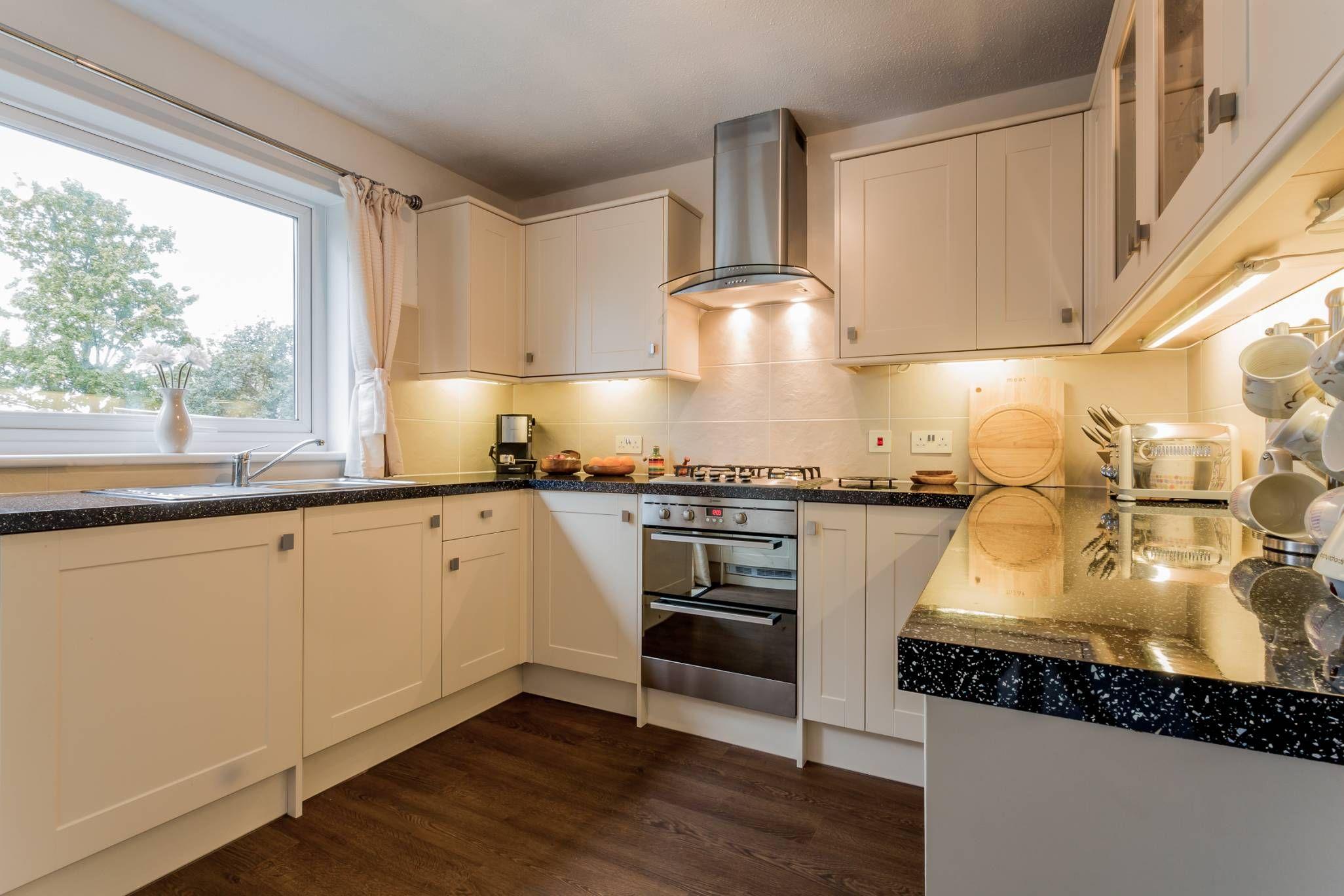 edinburgh  semi detached kitchen kitchen cabinets